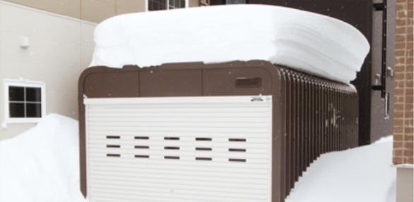 雪に強い、北海道生まれの頑丈設計